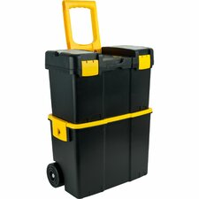 Stackable Mobile Tool Box with Wheels
