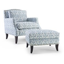 Sonoma Arm Chair and Ottoman