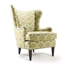 Enzo Cilantro Wingback Chair