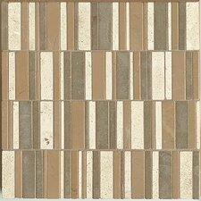 Random Sized Limestone Mosaic Tile in Solitude