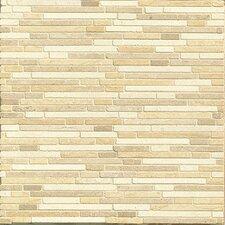 Random Sized Limestone Mosaic Tile in Synergy