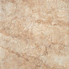 """Forge 20"""" x 20"""" Porcelain Field Tile in Gold"""
