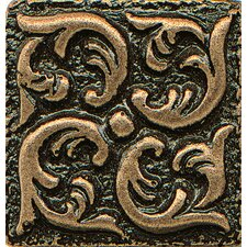 "Ambiance Insert Wave 1"" x 1"" Resin Tile in Bronze"