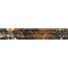 """Chair Rail 2"""" x 12"""" Marble Polished Tile in Michelangelo"""
