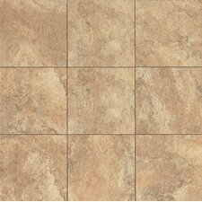 """Forge 13"""" x 13"""" Porcelain Field Tile in Gold"""