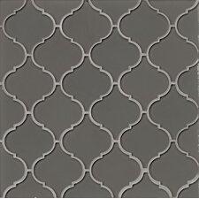 Mallorca Glass Mosaic Tile in Pelican