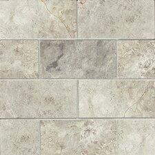 "3"" x 6"" Marble Mosaic Tile in Sebastian Gray"