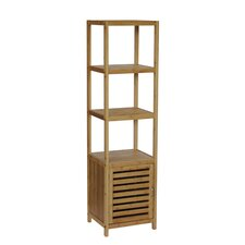 """Spa 14.5"""" x 54.5"""" Free Standing Linen Tower"""