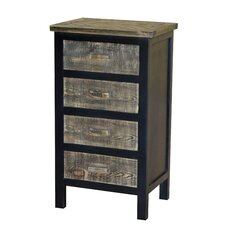Wovenwood 4 Drawer Cabinet