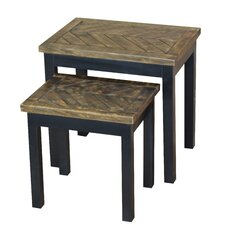 Wovenwood 2 Piece Nesting Tables