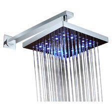 Volume Control LED Rainfall Shower Faucet