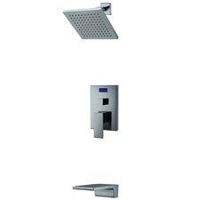 Single Handle Wall Mount Tub/Shower Faucet