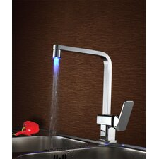 Single Handle Deck Mount LED Kitchen Faucet