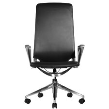 Marco High-Back Leather Chair