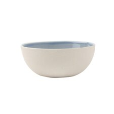 "Shell Bisque Bowl - Small Blue 4.5""diam x 1.75""H (Set of 4)"