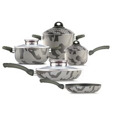Army Bio-Ceramix Non-Stick 9 Piece Cookware Set