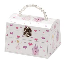Eleanor Princess and Castle Chest Style Musical Jewellery Case