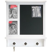 Chalkboard Frame and Key Hook