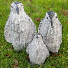 Christmas 3 Piece Penguins Figurine Set