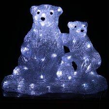 Christmas Polar Bear Pair