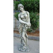 Statue Maiden Watering