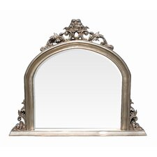Ornate Over Mantle Wall Mirror