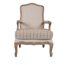 Louis Checked Armchair