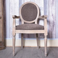 Louis Round Back Carver Dining Chair