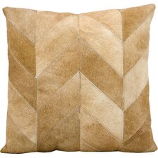 Heritage Leather Throw Pillow