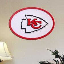 NFL Logo Textual Art Plaque