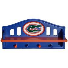 NCAA Coat Rack with Shelf