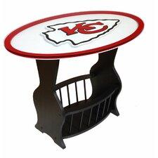 NFL Logo End Table