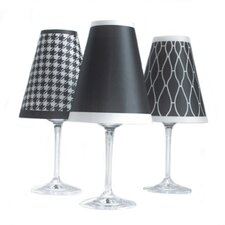 """4.5"""" Classic Paper Wine Glass Lamp Shade (Set of 6)"""