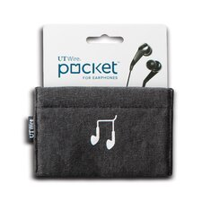 Cable Management Pocket for Earphone