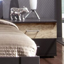 Nachttisch Madrid 2 mit 2 Schubladen
