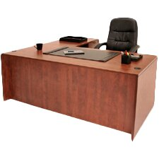 L-Shaped Executive Desk