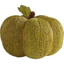 Seagrass Pumpkin Decor