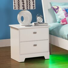 Hailey 2 Drawer Nightstand