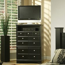 Elena 4 Drawer Media Chest