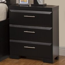 Serenity 3 Drawer Nightstand