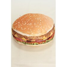 Hamburger Throw Pillow