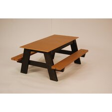 Recycled Plastic Kids Picnic Table
