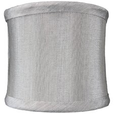 "4"" Fabric Liner Drum Lamp Shade"