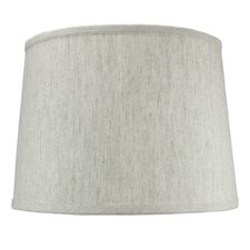 "14"" Shantung Fabric Drum Shade"