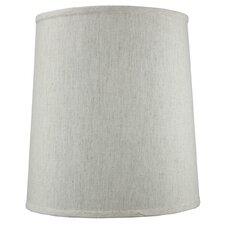 "15"" Shantung Fabric Drum Shade"