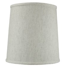"12"" Shantung Fabric Drum Shade"