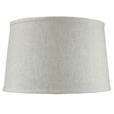 "16"" Shallow Shantung Fabric Drum Shade"