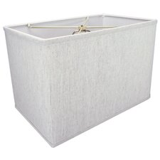 "16"" Linen Rectangular Shade"