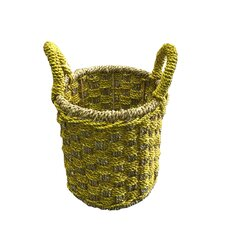Seagrass Double Woven Basket