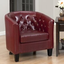 Gianni Leather Club Chair